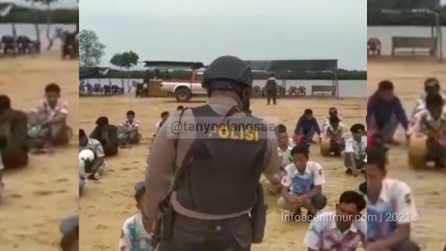 Sejumlah Siswa - Siswi Corat Coret Baju Diamankan Oleh Polisi Langsa.