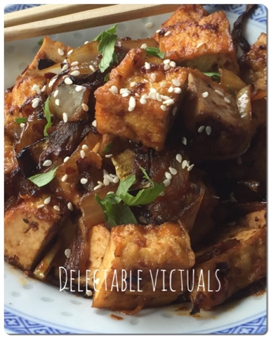 Spicy Chili Onion Tofu