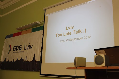 google tech talk lviv