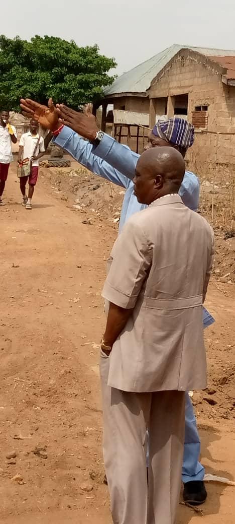 Afijio West LCDA Communities And Villages Enjoy Road Grading-Hon.Akindele Speaks