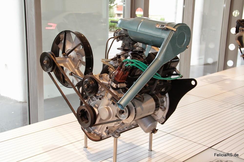 Škoda 1000MB Motor