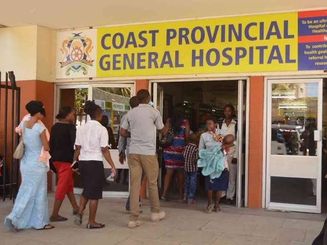 Coast General Hospital in Mombasa. PHOTO | BMS