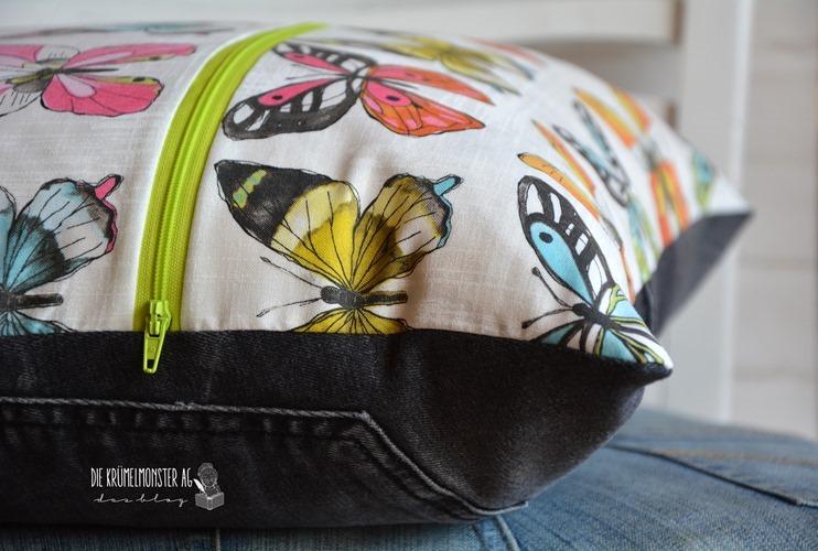 Jeanskissen Butterfly (02)