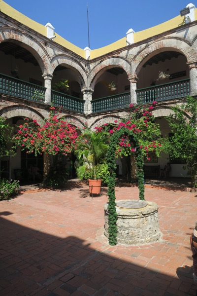 Monestary Courtyard