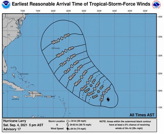 La Onamet vigila huracán y zona de aguaceros y onda tropical genera lluvias en regiones de RD