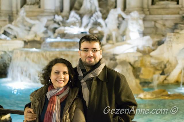 Trevi (Aşk) çeşmesinde, Roma