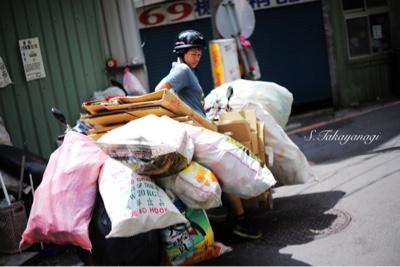 台北はバイクは欠かせない存在。