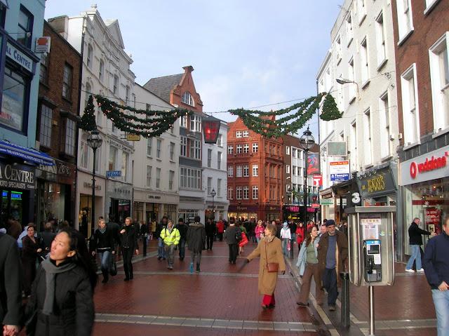 Qué ver en Dublín. Calle Grafton