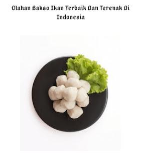 6 Olahan Bakso Ikan Terbaik Dan Terenak Di Indonesia