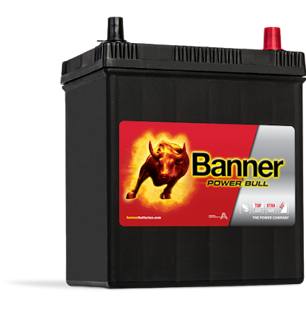 Bilbatteri 12v 40Ah Banner Power Bull P4026---