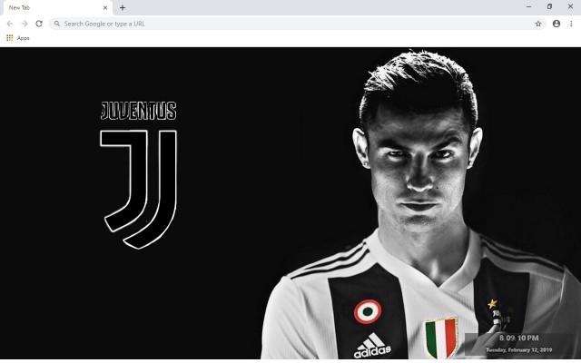 Cristiano Ronaldo New Tab Theme