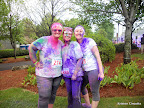 Pam and her colleagues, rocking the color dust!