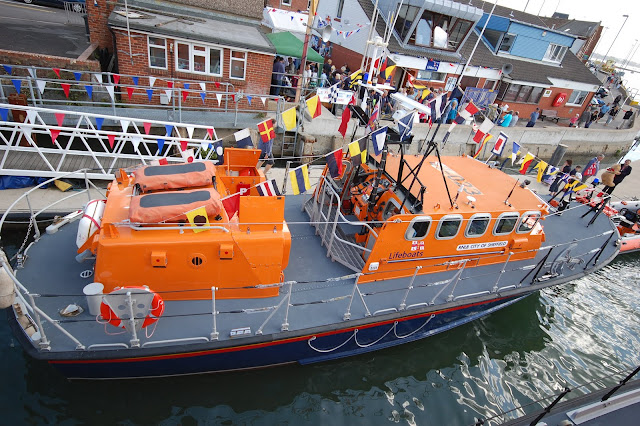 Poole's Tyne class lifeboat 'City of Sheffield' at Open Day