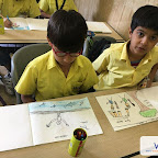 World Art Day (Grade I-V) 17-4-2018