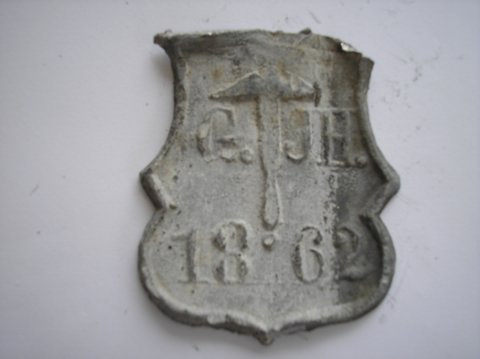 Naam: Gelking & J. HogewegPlaats: GroningenJaartal: 1862Boek: Steijn blz 9