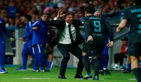 Atletico Madrid vs Chelsea Champions League Match Highlights as Batshuayi shine while Costa stares
