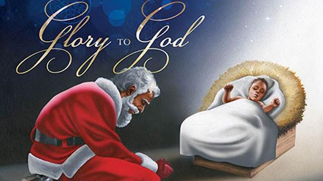 Chúa Giêsu và ông già noel