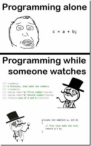 Programming alone