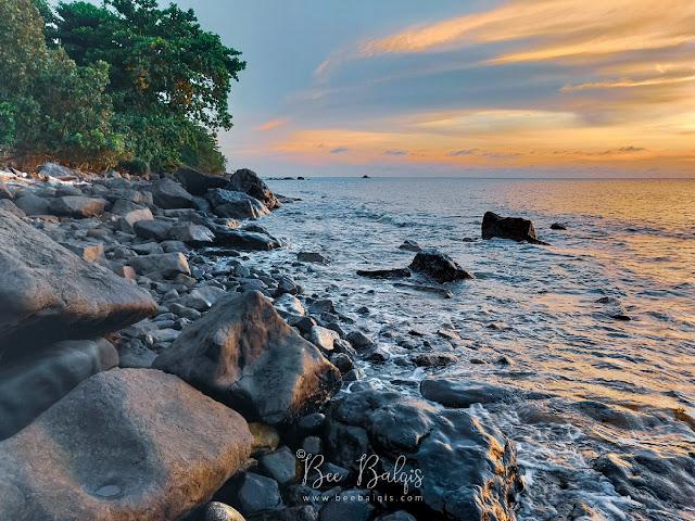Tempat nonton sunset bagus di Pulau Lemukutan Singakwang Kalimantan Barat