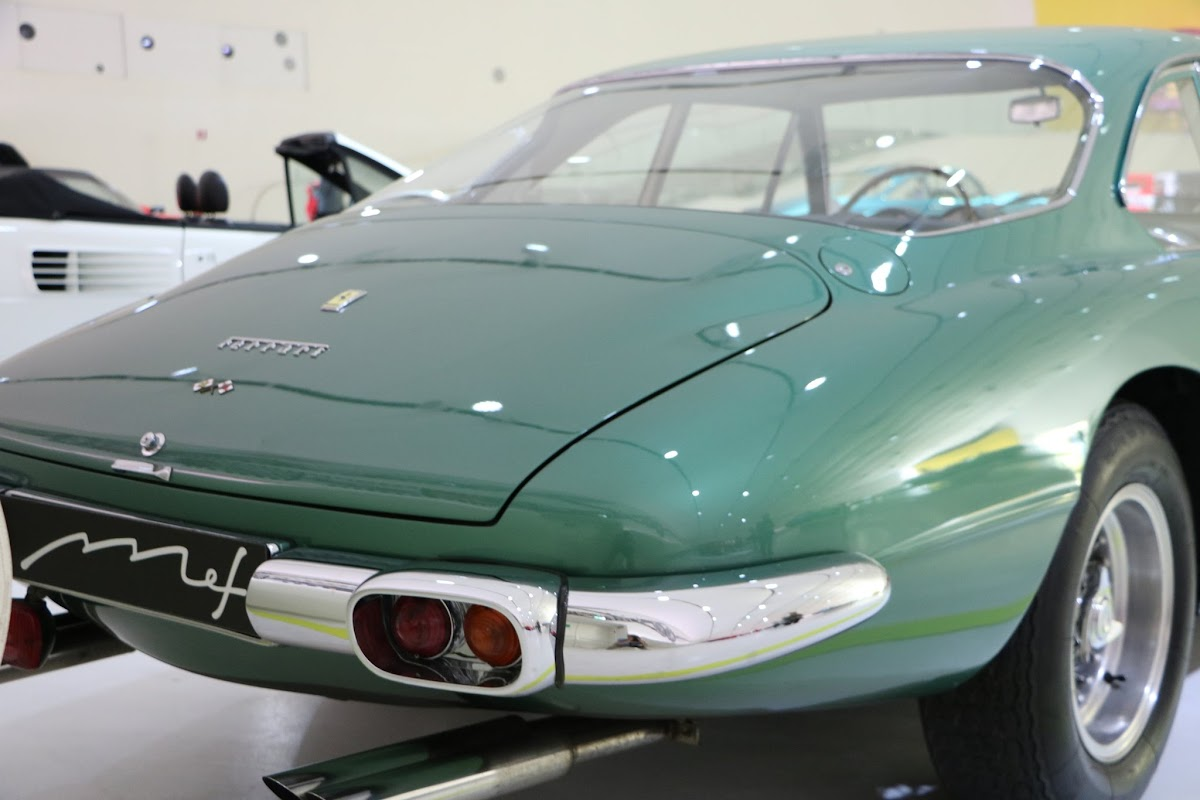 Modena - Enzo Museum 0052 - 1967 Ferrari 400 America.jpg