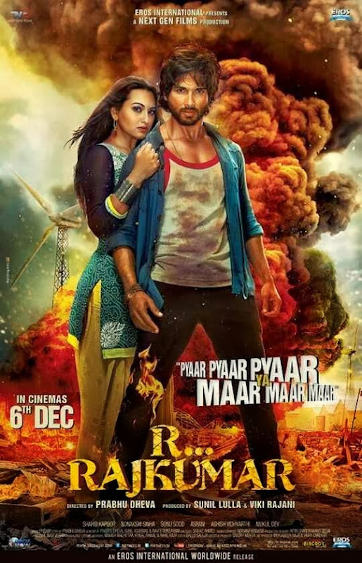 Poster Of Hindi Movie R… Rajkumar (2013) Free Download Full New Hindi Movie Watch Online At alldownloads4u.com
