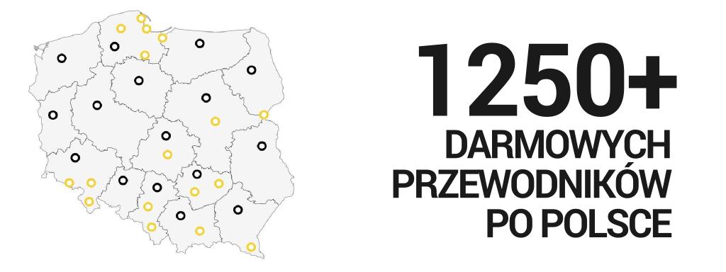 1200 darmowych przewodników po Polsce - Fundacja Ruszaj w Drogę!