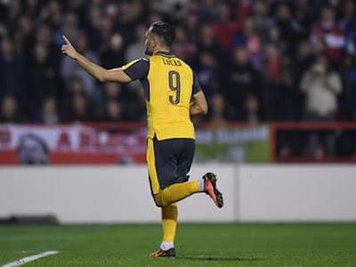 Arsenal striker desperate to impress