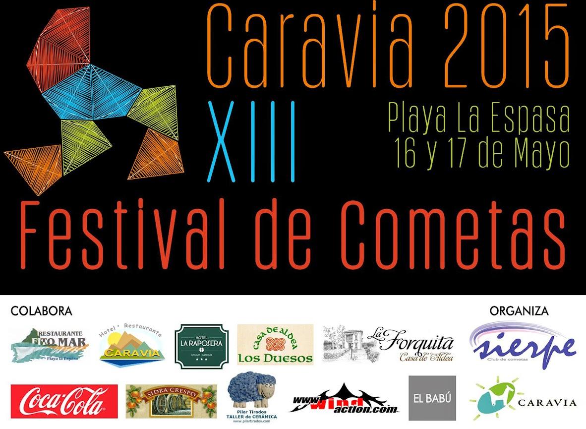 Festival de Cometas Caravia 2015