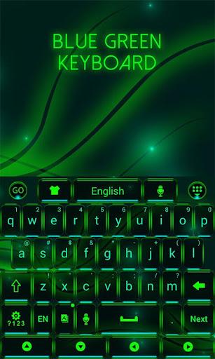 藍綠色鍵盤