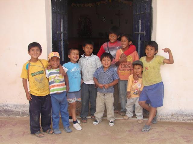 niños en Cucuall