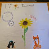 Le blason de l'équipe tournesol! Team sunflower's coat of arms!