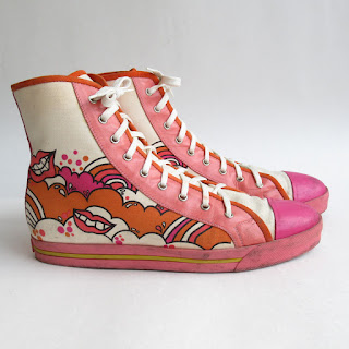 Marc Jacobs Collection Graphic High Top Sneakers