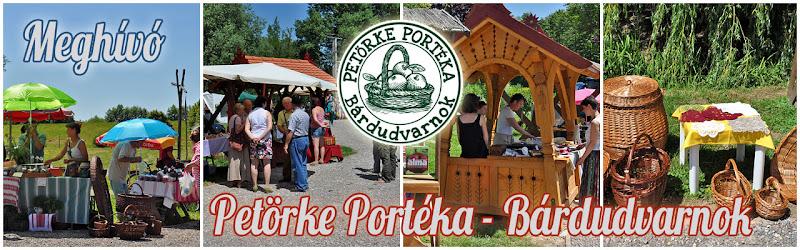 Petörke Portéka - Bárdudvarnok - Patca - Szenna