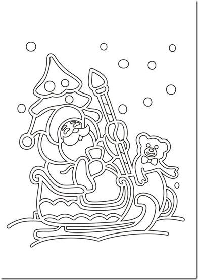 patrones para recortar ventanas navidad  (15)