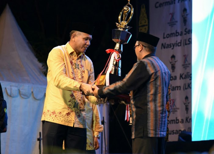 Aceh Juara Umum Pekan Ketrampilan dan Seni PAI VIII