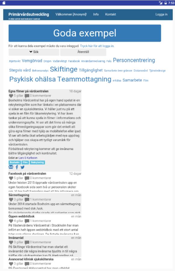 google mötesplatsen Gustavsberg och Hemmesta