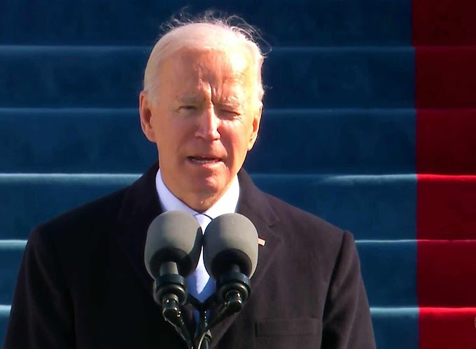 Donald Trump jilts presidential inauguration as Joe Biden took the oath of office as the 46th US President