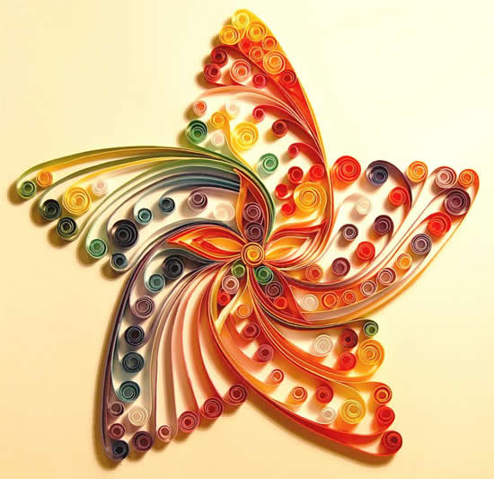 It Makes Me Kind Of Want To Step Up My Paper Quilling Project And See