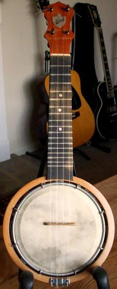 Alvin D Keech style a Banjulele Banjo Ukulele by Dallas