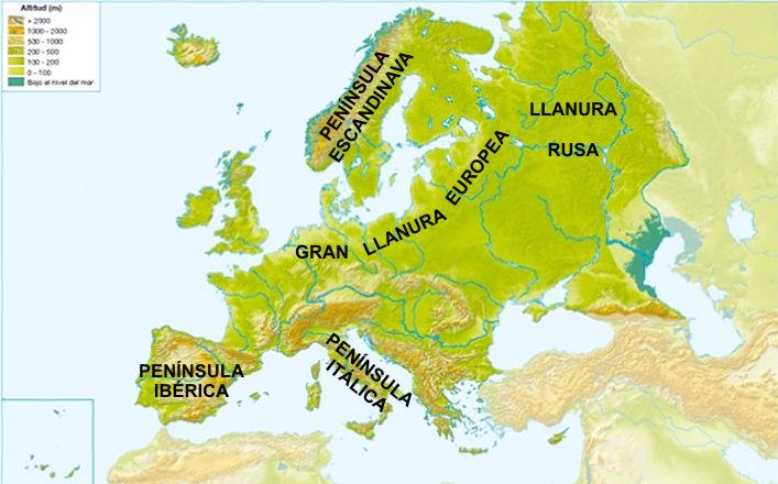 El blog de Luca COSTAS DE EUROPA ACCIDENTES PENNSULAS ISLAS