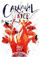 Carnaval de Nice affiche 2001