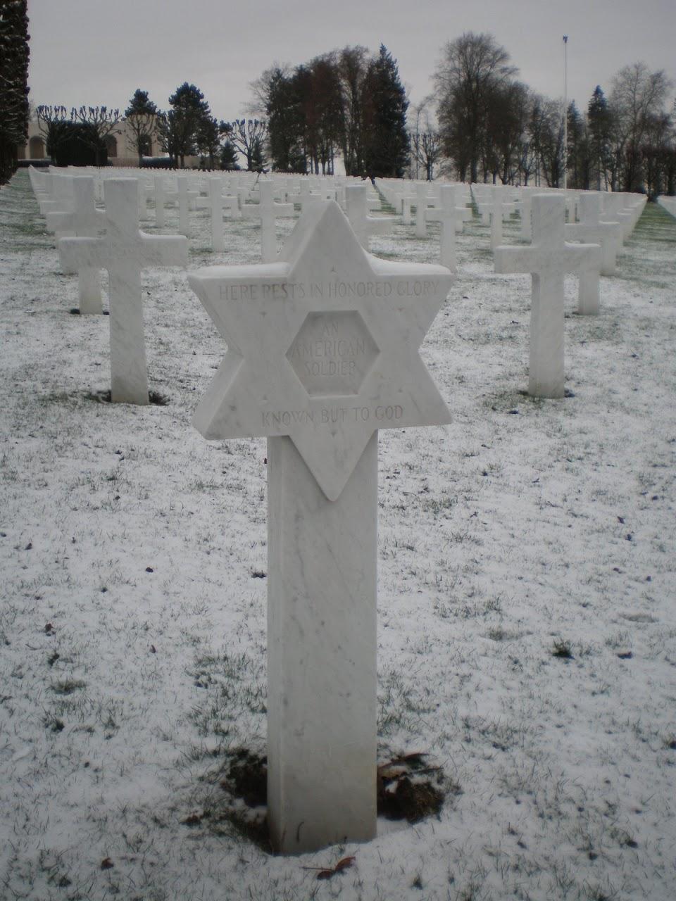 Grab eines unbekannten amerikanischen Soldaten