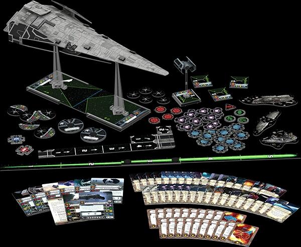 Contenido del Imperial Raider X-Wing