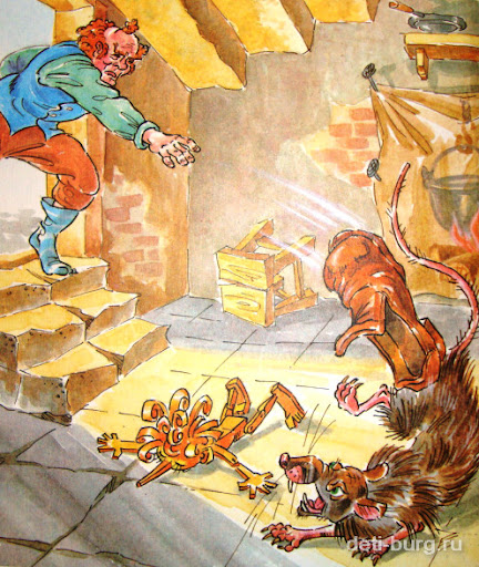 Сказка Приключения Буратино
