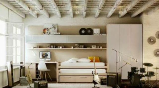 dormitorios juveniles madera