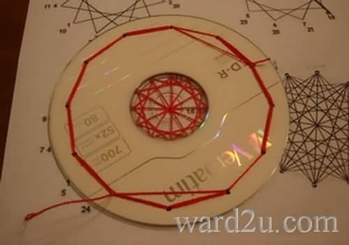 اشغال يدوية سى دى cd بكل الفنون