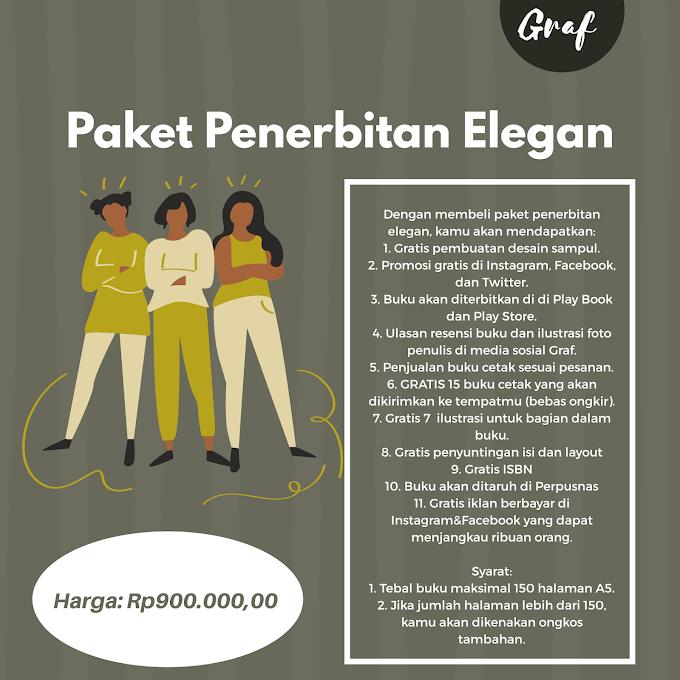Paket Penerbitan Elegan(Rp900.000,00)