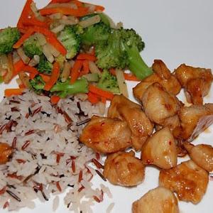 Wok-Fried Honeyed Chicken