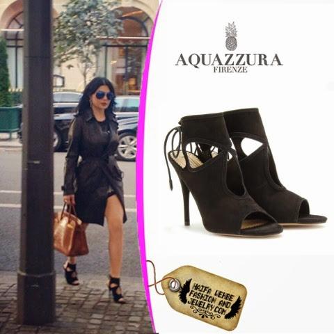 Aquazzura Sandales Chose Sexy - Noir AtOcOfzMmq