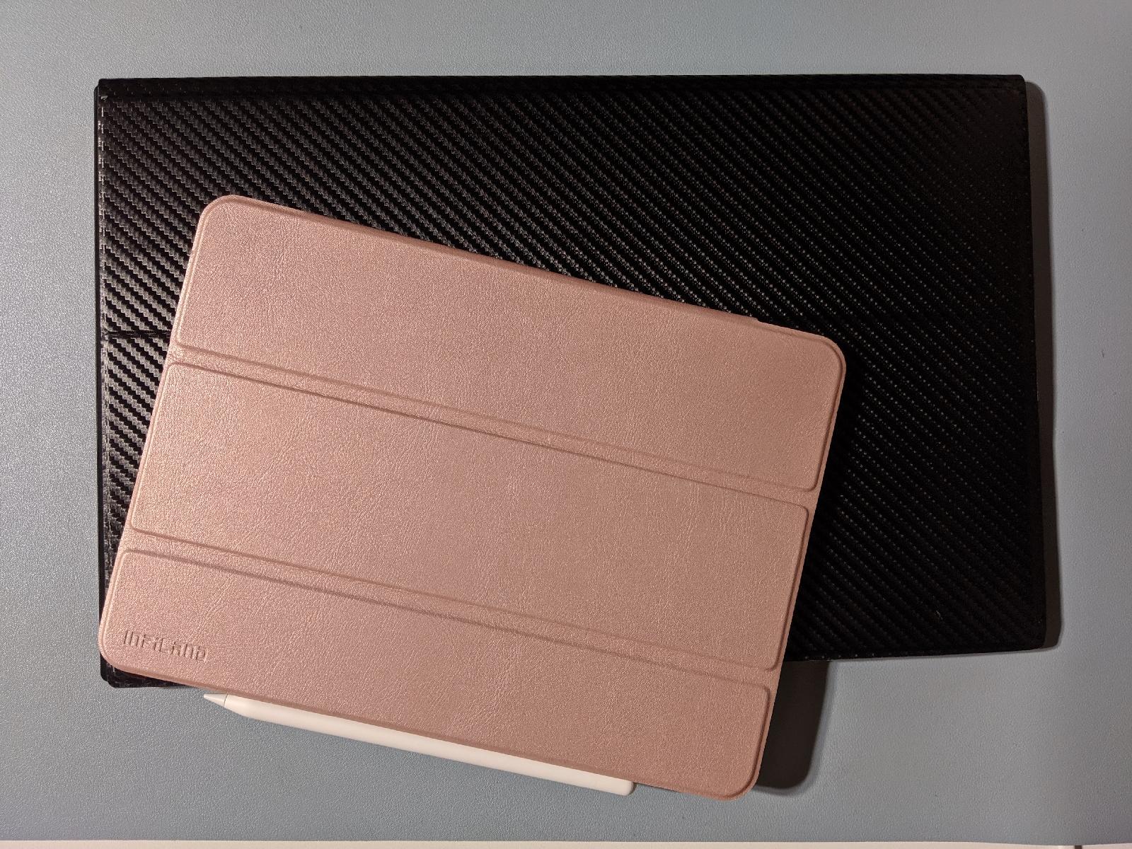 cocoparモバイルモニター写真 iPad Pro11と比較